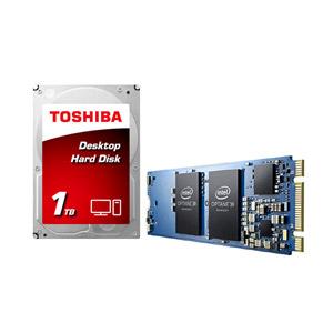 인텔 Optane Memory M.2 2280 (16GB) + 도시바 1TB 옵테인 패키지 [036434]
