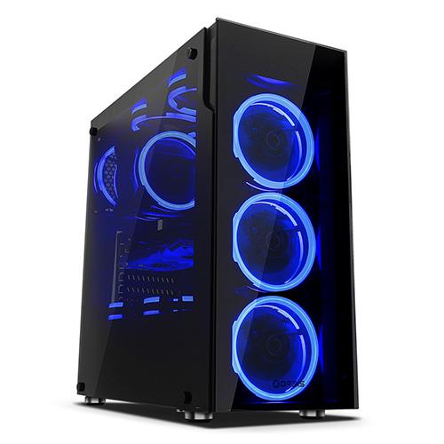 [케이스]ORBIS G510 블루 LED 듀얼링 강화유리 [037311]