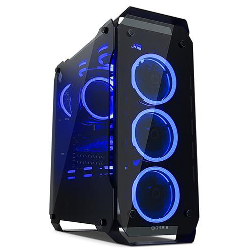 [케이스]ORBIS G540 블루 LED 듀얼링 강화유리 [037312]